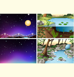 Set various scene vector