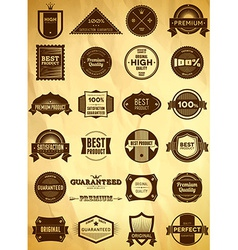 Vintage labels Big collection 3 vector image vector image