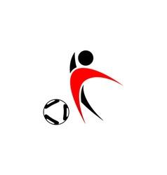 football-player vector image