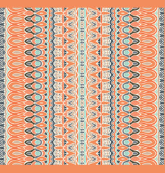geometrc stripes pattern for tiles and fabric vector image
