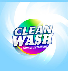 laundry detergent and soap product packaging vector image