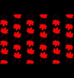 maple leaf - background vector image