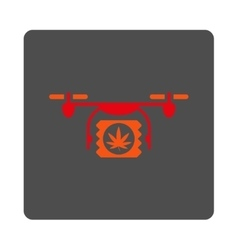 Painkiller airdrone shipping rounded square button vector