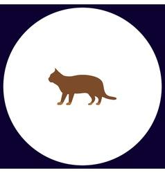 Pussycat computer symbol vector