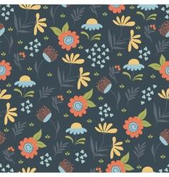 Saemless pattern summer fild vector