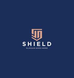 Sd shield logo vector