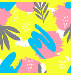 seamless abstract creative pattern vector image