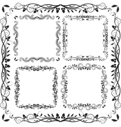 Square frames vector