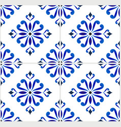 tile pattern design vector image