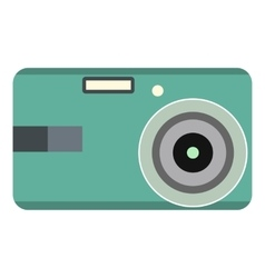 Unique camera flat icon vector