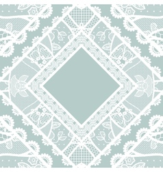 Lacy vintage background vector image vector image