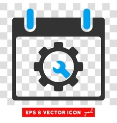 Options Tools Calendar Day Eps Icon vector image