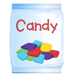 A packet of sweet vector image vector image