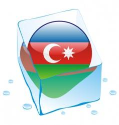 Azerbaijan flag vector image
