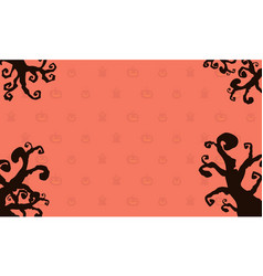Background style halloween card vector