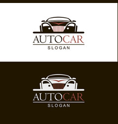 Emblems car vector