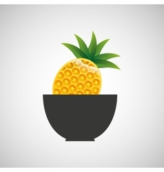fresh fruit icon vector image