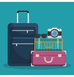 Luggage travel icon image vector
