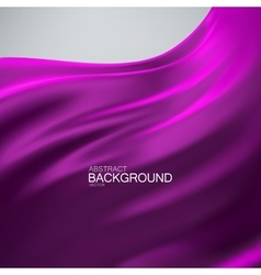 Purple silk fabric vector