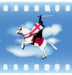 Film knight vector