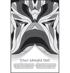 abstract banner for design vector image