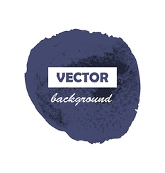 Colorful round paint stains for your text vector image vector image