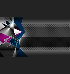 abstract geometric modern backgrounds vector image
