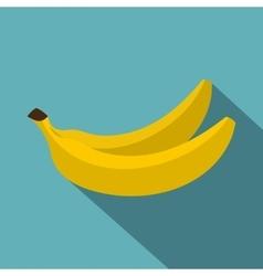 Banana icon flat style vector