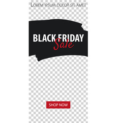 Black friday sale stories for instagram pack for vector
