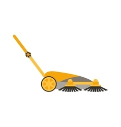 Cleaning equipment isolated vector image