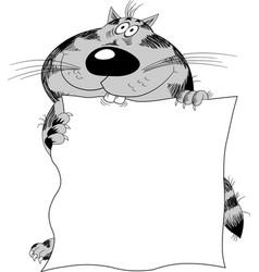 Clever cat vector