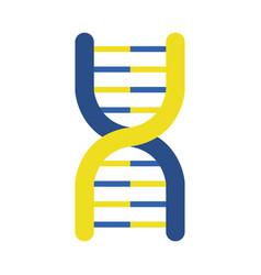Down syndrome day concept chromosome icon vector