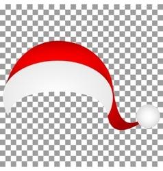 Hat of Santa Claus vector image