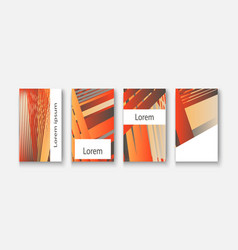 modern business geometric template banner vector image