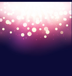 shining luxury bokeh background vector image