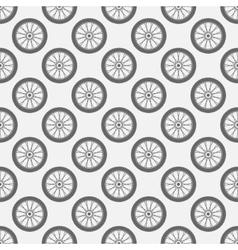 Wheels seamless pattern vector image vector image