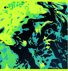 Abstract black ink blot background vector