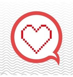 love heart design vector image