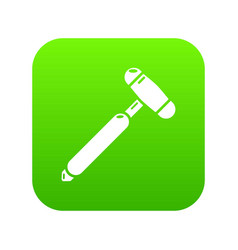 Medical mallet icon simple style vector