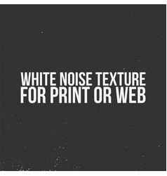 White noise texture for print or web vector