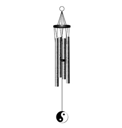 Wind chime vector