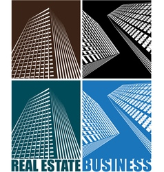 Business centre vector