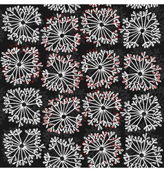 Dandelion patterns vector image vector image