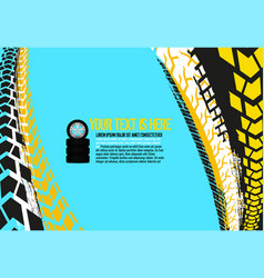 automotive tire background 31 vector image