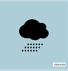 rain icon rain icon eps10 rain icon rain icon vector image