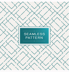 Retro seamless pattern with simple line and dot vector