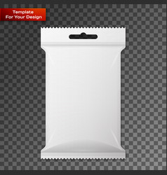 white wet wipes package vector image