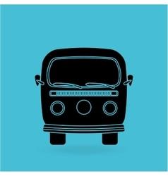 car retro design vector image
