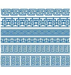 stylish border vector image vector image