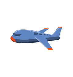 airplane travel flying isolated icon vector image